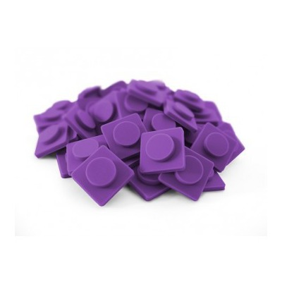 PIXELBAGS small pixel points purple P002
